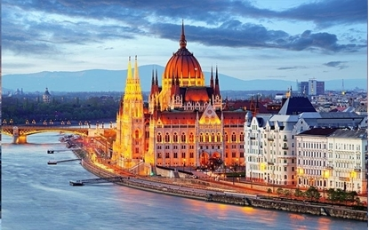 Слика на Будимпешта ( Виена - Сент Андреа) - 2НП 8-ми Декември