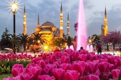 Слика на Истанбул со Принцески острови  3НП 11-ти Октомври