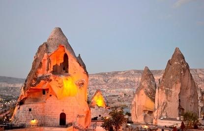 Слика на Кападокија со Истанбул и солено езеро  3ПП+1НП- Магија и мистика